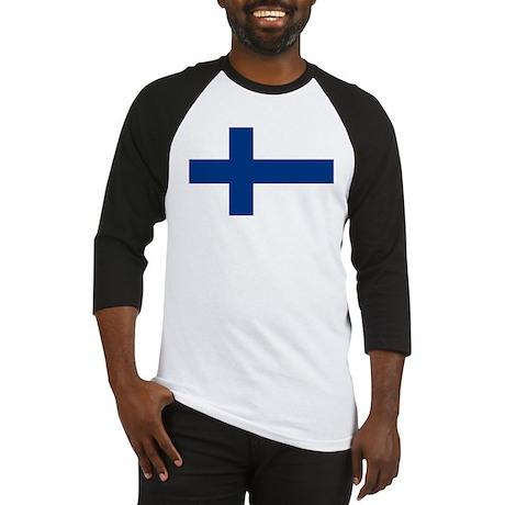 Finnish Flag Baseball Jersey