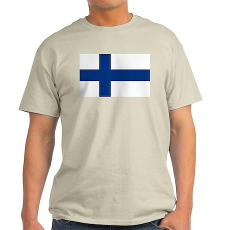 Finnish Flag Light T-Shirt
