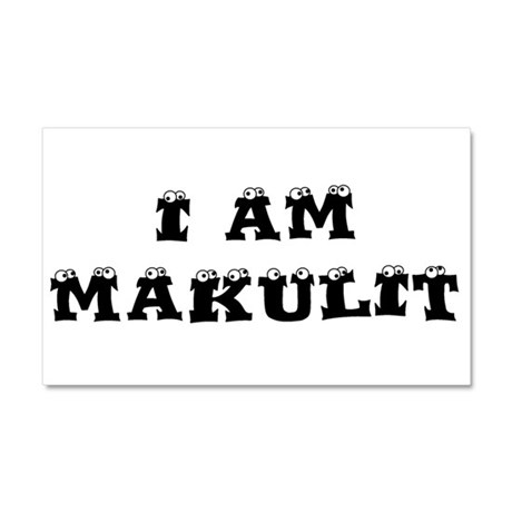 I Am Makulit Car Magnet 20 x 12
