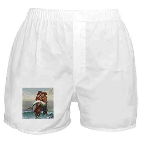 Pirate and Mermaid Boxer Shorts