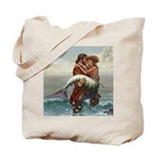 Pirate and Mermaid Tote Bag