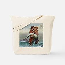 Pirate and Mermaid Tote Bag