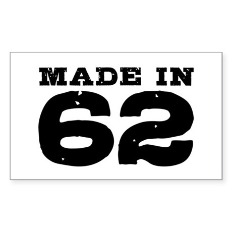 Made In 62 Sticker (Rectangle)