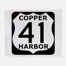 Copper Harbor 41 Throw Blanket