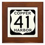 Copper Harbor 41 Framed Tile