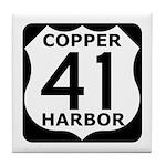 Copper Harbor 41 Tile Coaster
