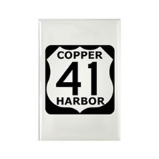 Copper Harbor 41 Rectangle Magnet