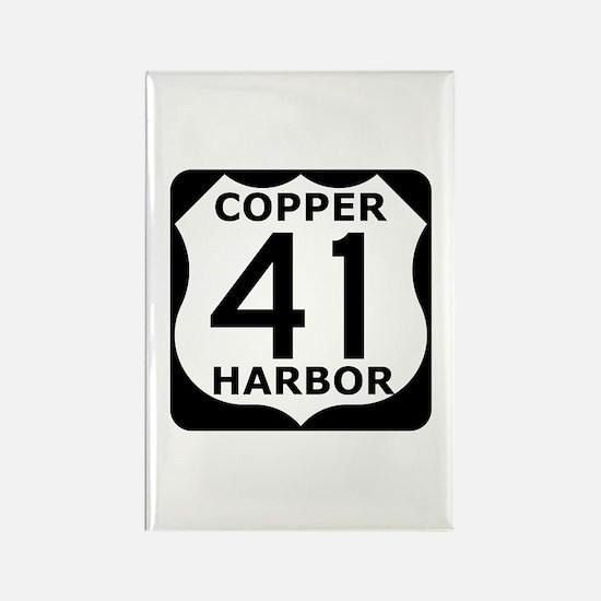 Copper Harbor 41 Rectangle Magnet