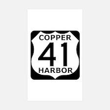 Copper Harbor 41 Decal