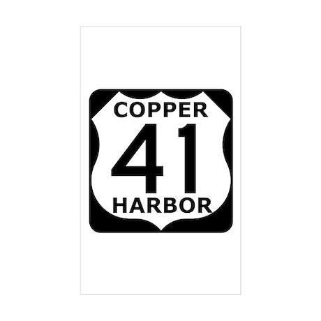 Copper Harbor 41 Sticker (Rectangle 10 pk)