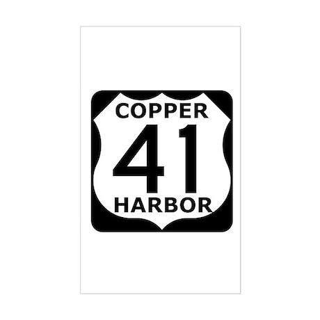 Copper Harbor 41 Sticker (Rectangle)