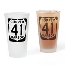 Copper Harbor 41 Drinking Glass
