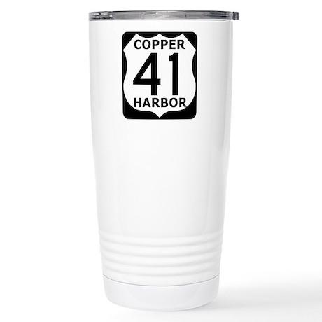 Copper Harbor 41 Stainless Steel Travel Mug