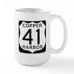 Copper Harbor 41 Large Mug