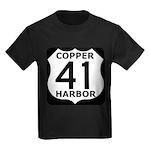 Copper Harbor 41 Kids Dark T-Shirt