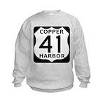 Copper Harbor 41 Kids Sweatshirt