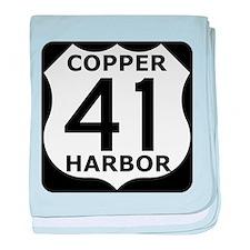 Copper Harbor 41 baby blanket