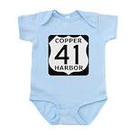 Copper Harbor 41 Infant Bodysuit