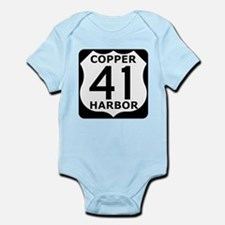 Copper Harbor 41 Infant Bodysuit