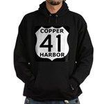 Copper Harbor 41 Hoodie (dark)