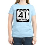 Copper Harbor 41 Women's Light T-Shirt