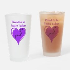 Foster Failure Drinking Glass