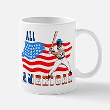 All American BaseBall player Mug