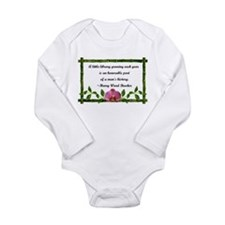 A Little Library Long Sleeve Infant Bodysuit