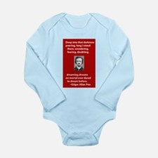 The Raven Long Sleeve Infant Bodysuit