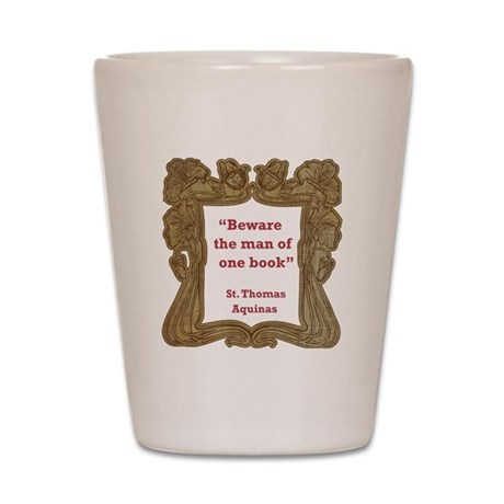 Man of One Book Shot Glass