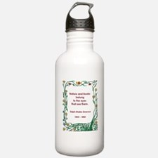 Nature and Books Water Bottle