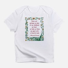 Childhood Spent With A Book Infant T-Shirt