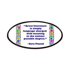 Great Literature Patches