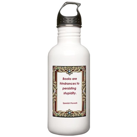 Persisting Stupidity Stainless Water Bottle 1.0L