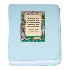 Read All You Can baby blanket