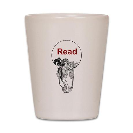 Read Shot Glass