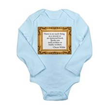 Censorship Long Sleeve Infant Bodysuit
