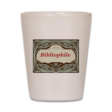 Bibliophile 3 Shot Glass