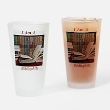 Bibliophile 2 Drinking Glass