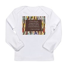 Paradise the Library Long Sleeve Infant T-Shirt