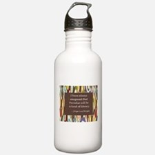Paradise the Library Water Bottle