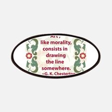 Art Like Morality Patches