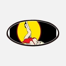 Sexy Blond Pin-Up Patches