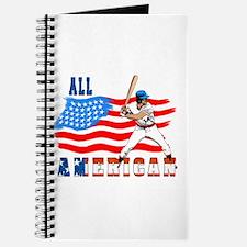 All American BaseBall player Journal