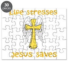 Life Stresses Jesus Saves Puzzle