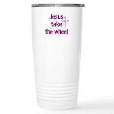 Jesus Take the Wheel Thermos Mug