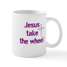 Jesus Take the Wheel Small Mug