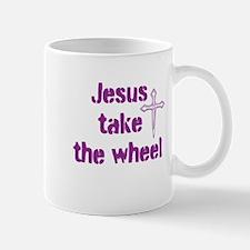 Jesus Take the Wheel Small Small Mug
