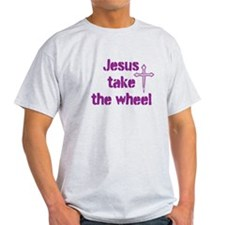 Jesus Take the Wheel T-Shirt