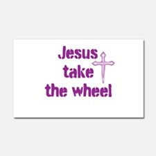 Jesus Take the Wheel Car Magnet 20 x 12